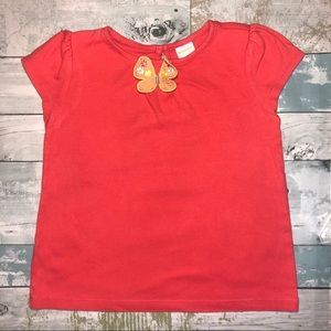 Gymboree Toddler Girls Butterfly Shirt Size 5T
